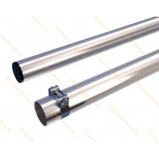Мачта алюминиевая составная, диаметр 35мм, колено 2м, ДЛИНА 4м