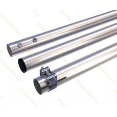 Мачта алюминиевая составная, диаметр 50мм, колено 2м, ДЛИНА 6м
